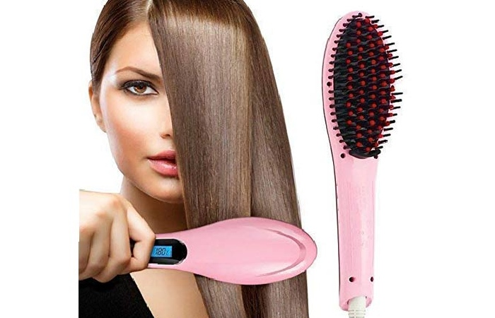 Electric brush for perfect hair