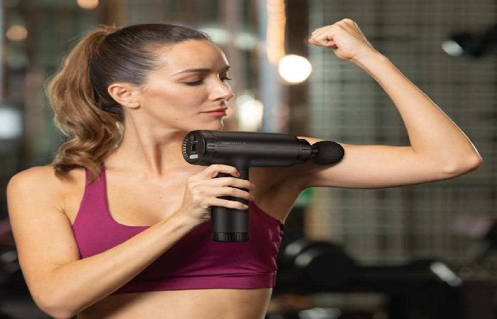 Muscle massage guns for a pain-free body