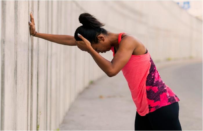 dizziness after workout