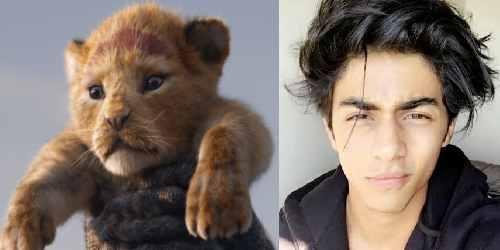 Aryan Khan as Simba
