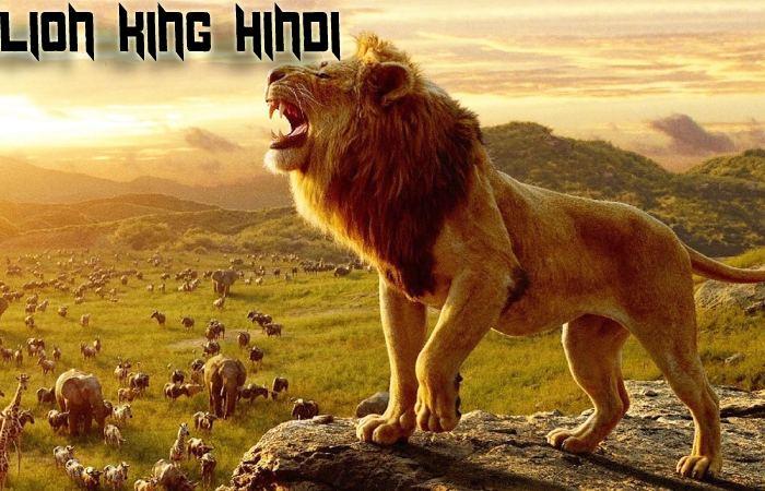 Lion King Hindi Cast - Story