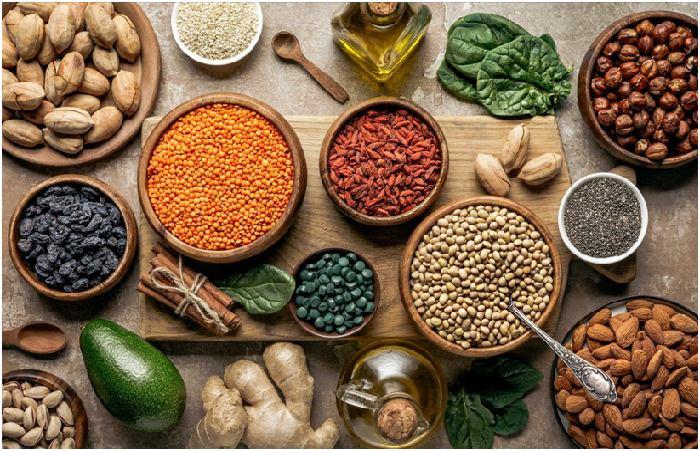 Vegan and vegetarian diet