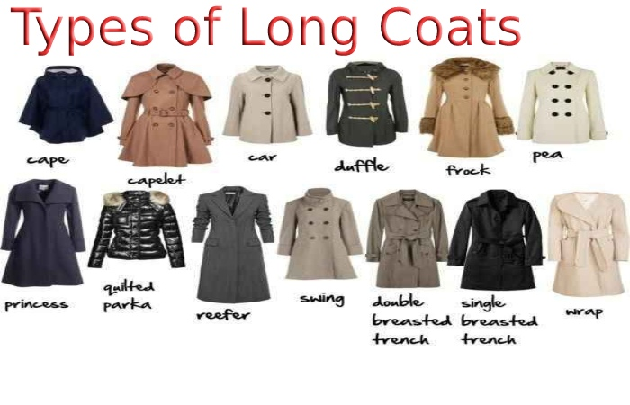 types of long coat